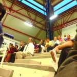 Crowd at the gym in Rincon de Romos