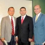 Arturo Muñoz, Pastor Luis Parada and Pastor Luis Ramos