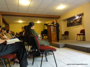 Preaching in Mexico City