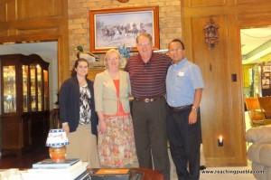 Visiting Bro. Mike Patterson in Arlington, Texas
