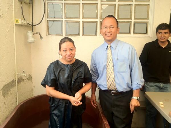 Sister Socorro's Baptism