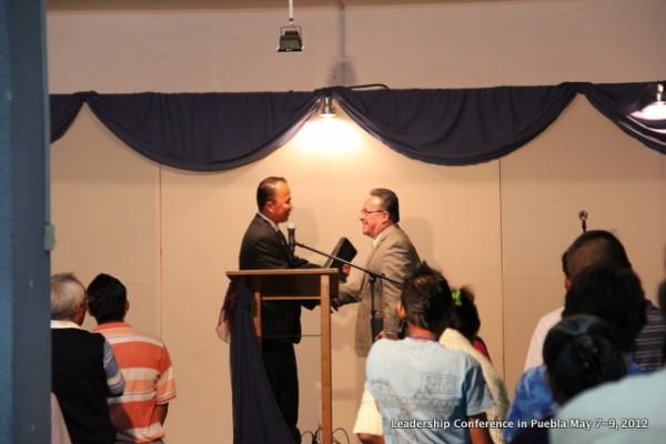 Presenting Pastor Ezequiel Salazar