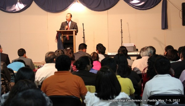 Leadership Conference in our Church first night
