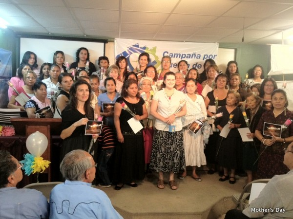 Mother's Day in our Church in Puebla, Mexico