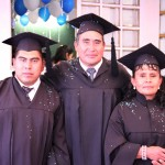 Three Graduated From Our Bible Institute!