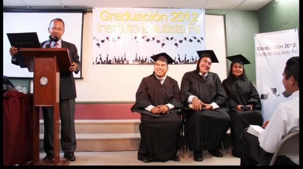 Graduation Ceremony in Puebla Mexico