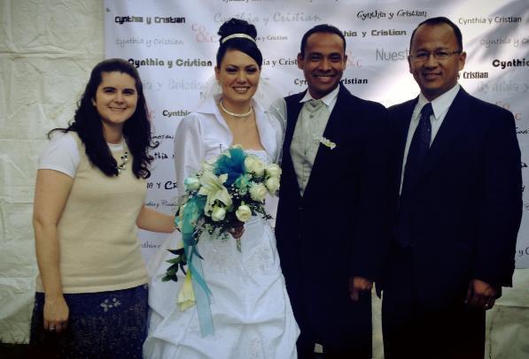 Cristian y Cynthia's wedding