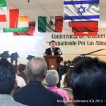 Missionary Jesús Alanis in Ecuador preaching