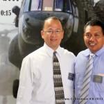 Bro. Munoz with Missionary Pablo Yam