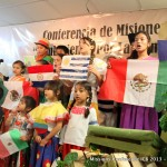 Kids singing a special during our missions conference