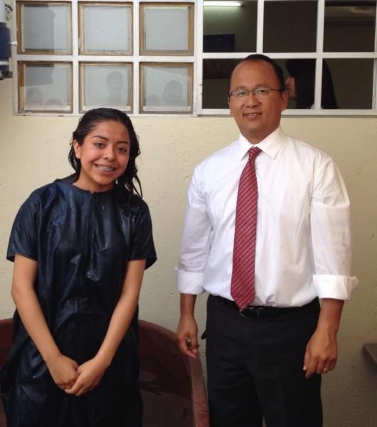 Priscila Baptized