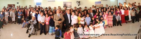 Iglesia Cristiana Bautista 12th Anniversary