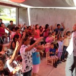 225 attended our 3 different Vacation Bible Schools in Puebla