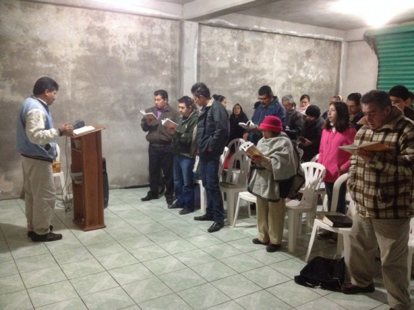 Church in Calnali, Hidalgo. Bro. Daniel Munoz is the Pastor.