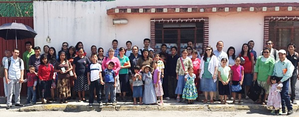 Our Soulwinning Group here in Puebla!