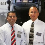 Missionary Salvador Derreza and Pastor Munoz